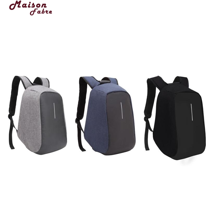 Maison Fabre USB Charge Anti Theft Backpack Men Travel Security Waterproof School Bags College Teenage Male  Laptop 2017d27 sopamey usb charge men anti theft travel backpack 16 inch laptop backpacks for male waterproof school backpacks bags wholesale