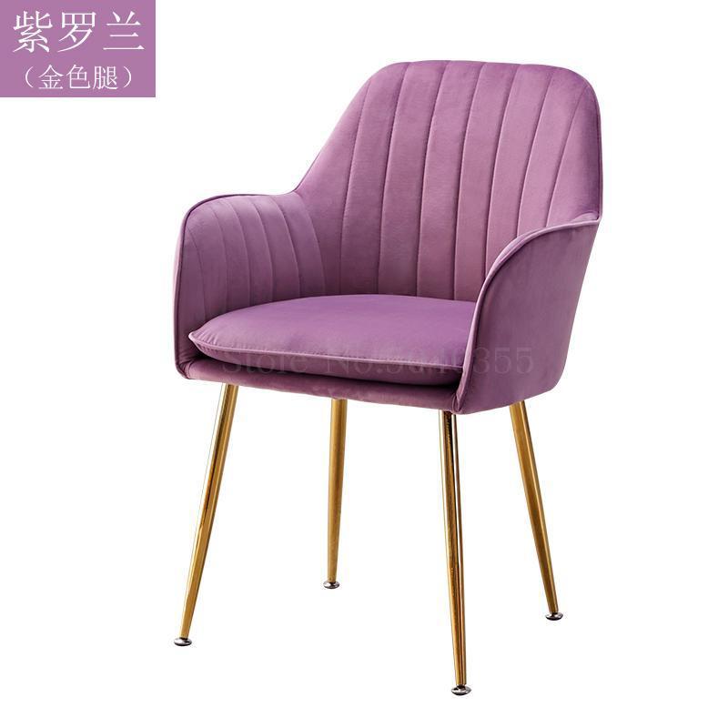 Современный дизайн, мягкий обеденный стул, модный прозрачный стул для гостиной, отдыха, мебель, стул-Лофт - Цвет: VIP 5
