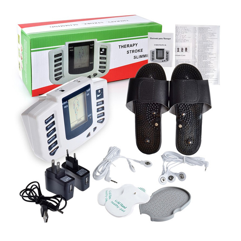 Slimming Electronic Body Pulse Massage for Muscle Relax Pain Relief Stimulator Tens Acupuncture Therapy Machine Massage купить в Москве 2019