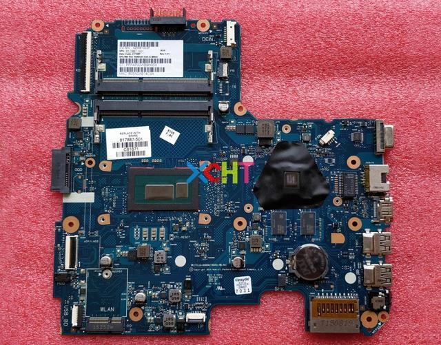 Für HP 240 G4 817887 501 817887 001 817887 601 watt i3 4005U CPU 6050A2730001 MB A01 R5/M330 2g Motherboard Mainboard Getestet