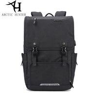 ARCTIC HUNTER Men Backpack Women Large Capacity Business Computer Bag School Backpack Usb Charging Travel Anti