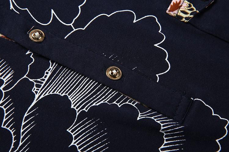 Men Polo Shirt Fashion Printed Business Mens Polo 2016 Casual Short Sleeved Sports Golf Tennis Cotton Polo Camisa Plus Size 3XL (5)