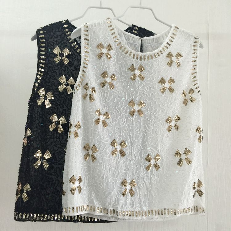 2018 été nouveau Floral Floral à volants maille Blusas débardeur chemises femmes d'été sans manches dentelle Blouses de mode
