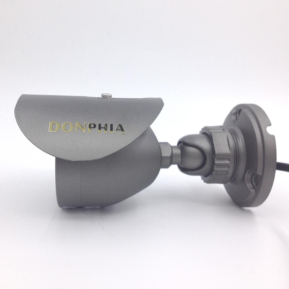 Donphia cctv kamera ir açık analog 1000tvl su geçirmez bullet - Güvenlik ve Koruma - Fotoğraf 2