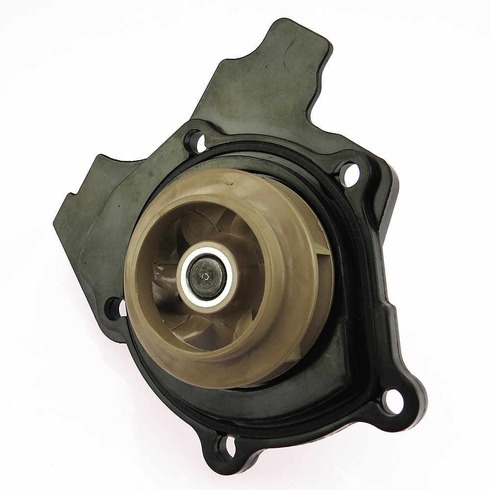 Scjyrxs охлаждения двигателя Водяной насос колесо Пластик 06H121026CQ 06 H 121 026CQ для Passat B6 B7 CC Гольф MK5 MK6 Жук A4 Q5 TT