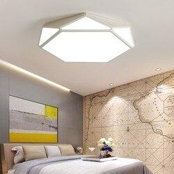 Nowoczesny minimalistyczny kreatywny led lampa sufitowa ciepłe romantyczna sypialnia lampa przejściach i korytarzach salon jadalnia pokój lampy sufitowe ZA62 ZL17