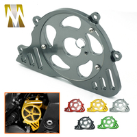 Motorbike Left Side Engine Cover For Kawasaki Z1000 2014 2015 2016 Front Sprocket Chain Guard Cover Z 1000 2011 2012 2013 Gray