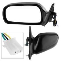 New Non Folding Durable Car Right Side Mirror Driver side RH Mirror for 97 01 Toyota Camry CE/LE/XLE Sedan 4 Door
