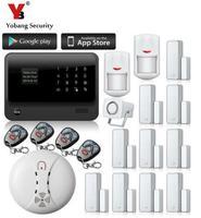 Yobang безопасности GPRS SMS alarmas gsm Casa Беспроводной gsm дома Охранной Сигнализации системы безопасности Дистанционное управление дома дыма Сенсор