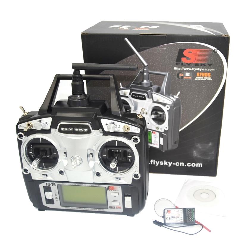 font b drone b font FlySky FS T6 2 4G 6CH TX RX FS R6B