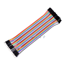 40P 20cm dupont line Male to female 2.54mm dupont cable jumper wire dupont line Male to female bread line 20cm 1-40P for arduino