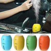 New Car Air Freshener Car Humidifiers180ML Lemon Ultrasonic USB Portable DC With LED Light Office Home