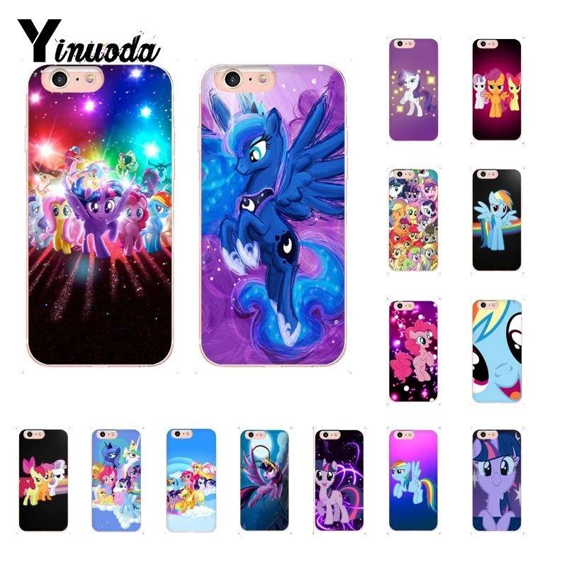 Binful Magic My Little Pony Coque Shell Phone Case for iphone 12 5 5Sx 6 7 7plus 8 8Plus X XS MAX XR Fundas Capa 12mini