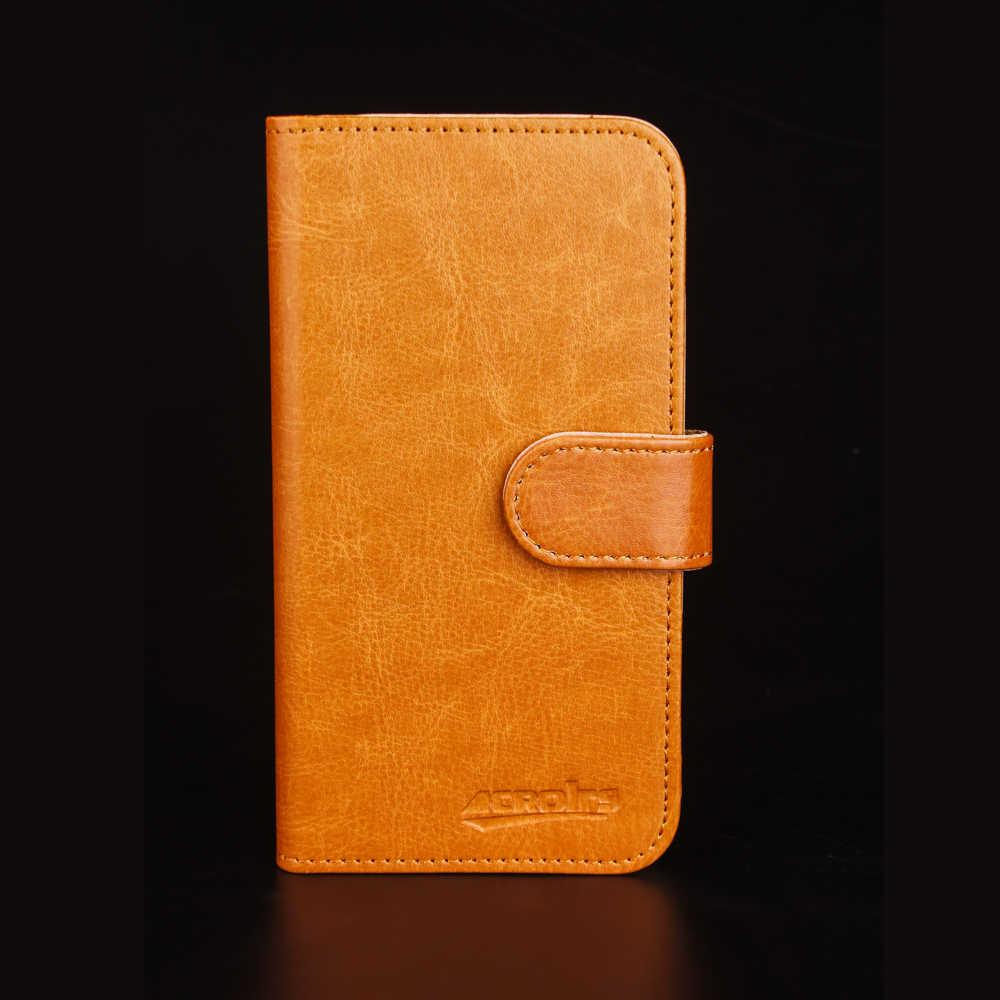 Doogee Y8 プラスケース 6 色専用レザー独占特別なクレイジー馬電話カバーケースクレジット財布 + 追跡