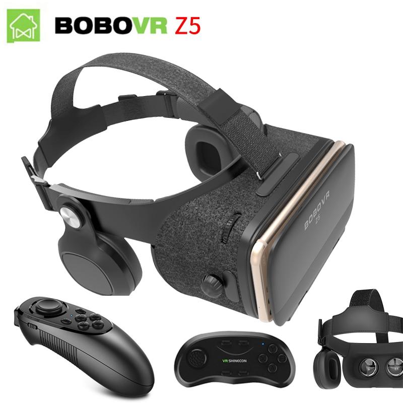 Original BOBOVR Z4 Update Z5 VR 3D Box Helmet Virtual Reality Glasses Smartphone VR Headset for Android 4.7-6.2''In Mobile Phone цена