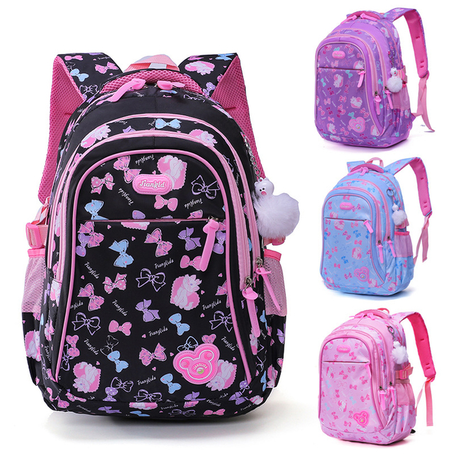 ZIRANYU School Bags children backpacks For Teenagers girls Lightweight  waterproof school bags child orthopedics schoolbags 4abf73fd5c6af