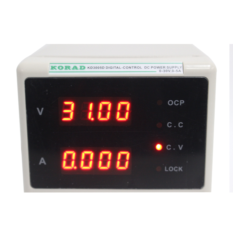 KD3005D DC Encoder Adjustable CNC Power Supply 30V5A Constant Voltage Constant Current Source mA Display 10mV  1 mA Accuracy (3)