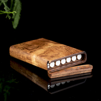 Boutique Cigarette Box Portable Sandalwood Personality Cigarette Smoking Gifts For Men And Women Cigarette Cases
