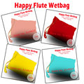 HappyFlute diaper bag, wetbag with buklet