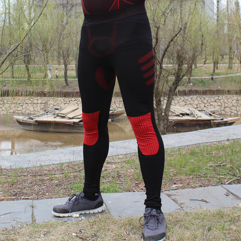 2017 new Men compression pant tights Base layer elastic long pants leggings font b running b