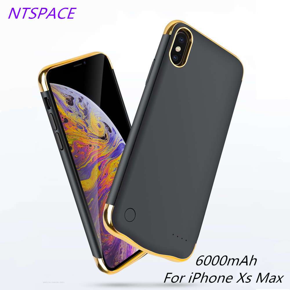 NTSPACE 6000mAh New Fashion Ultra Thin Pack Charging Case For iPhone XR Power Bank Case External Back Clip Battery Charger CaseNTSPACE 6000mAh New Fashion Ultra Thin Pack Charging Case For iPhone XR Power Bank Case External Back Clip Battery Charger Case