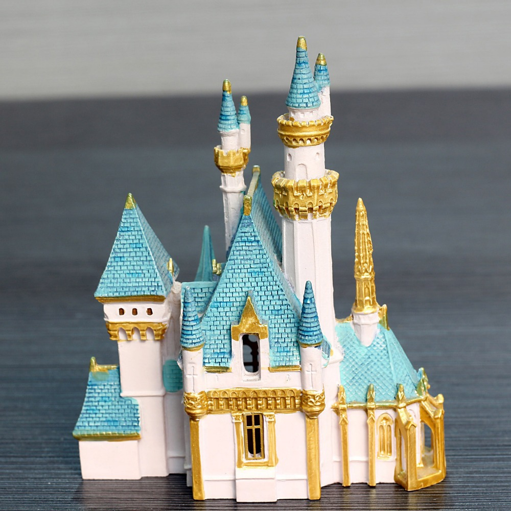 Exquisite Designer Castle Resin Ornaments. Designer Home Decor Resin ...