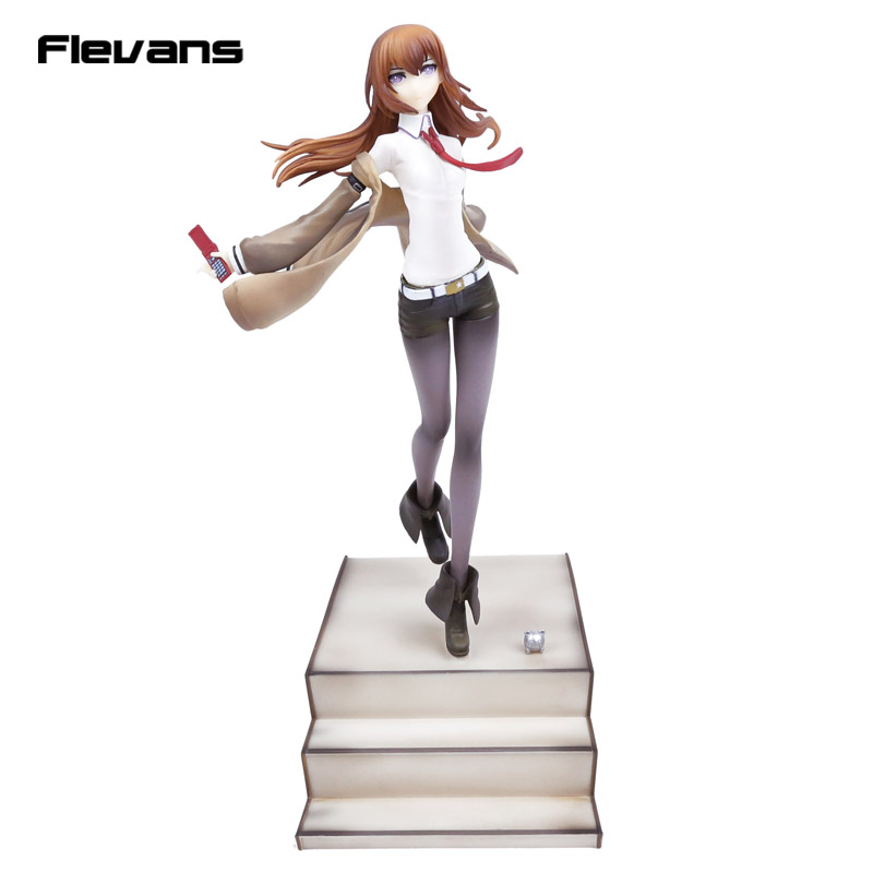 Steins Gate Makise Kurisu Laboratory Member 004 1/8 Scale Painted Figure Collectible Model Toy member