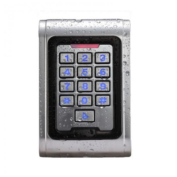 Standalone 125KHZ RFID Reader & Keypad Pin code Door gate lock opener Access Control Metal Keypad Case 2000 user кальсоны user кальсоны