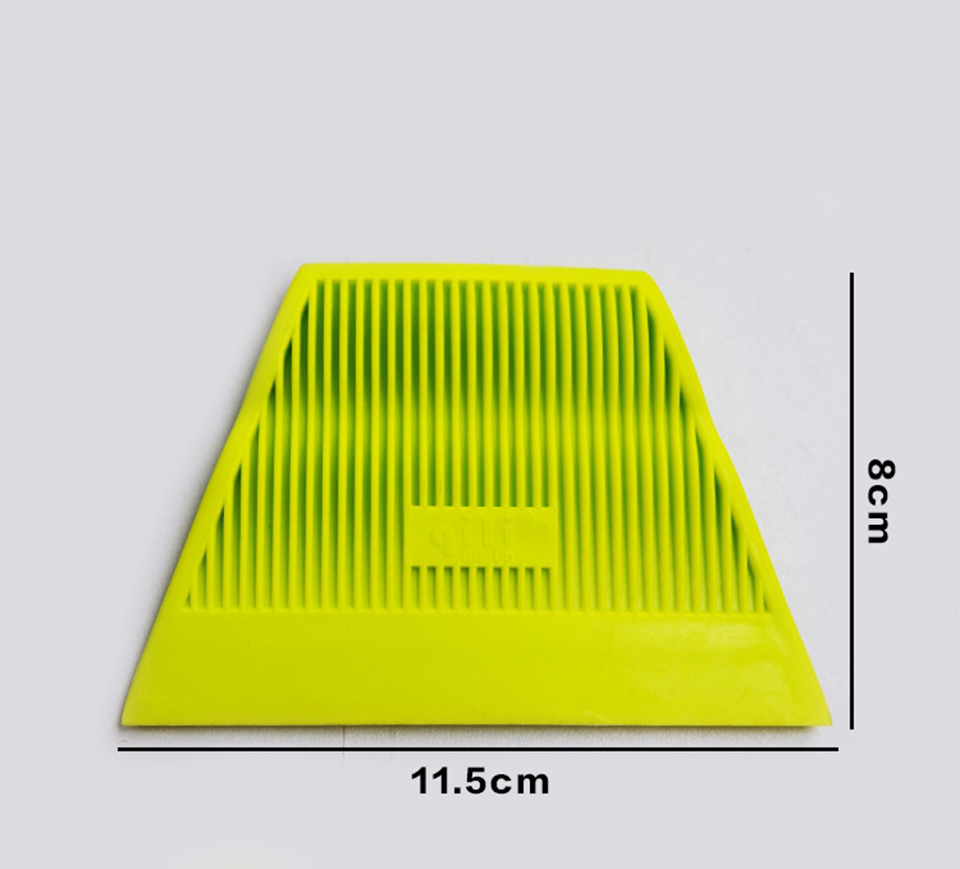 Image 3 - Good Quality Vinyl Wrap Tool Yellow Power Stroke Squeegee Soft Scraper For Auto Tinting QG 05 Whole Sale-in Car Stickers from Automobiles & Motorcycles