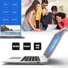 Ultrathin Laptop Wifi Z8350 Computer Music Durable Notebook