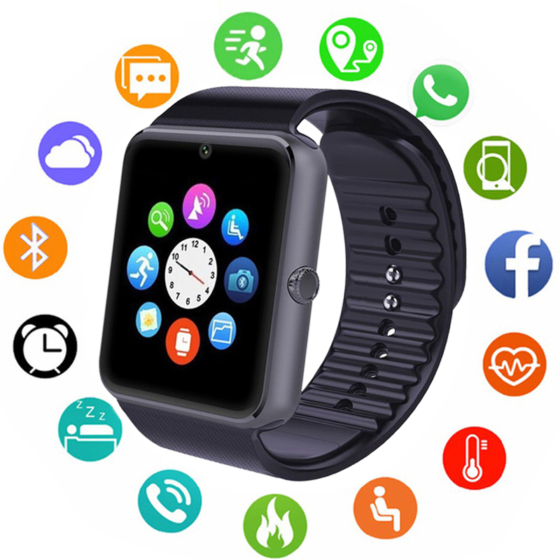 Bluetooth Smart Watch Men Women Call Message Remind Health Camera Pedometer Running Sport Watch Support Sim Card For Android IOSBluetooth Smart Watch Men Women Call Message Remind Health Camera Pedometer Running Sport Watch Support Sim Card For Android IOS