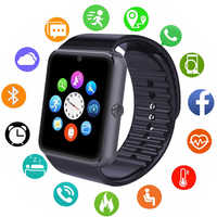 Bluetooth Smart Watch Men Women Call Message Remind Health Camera Pedometer Running Sport Watch Support Sim Card For Android IOS