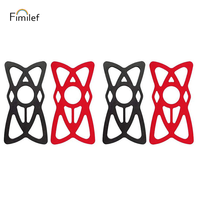 Fimilef Silicone Strap Replacement For Bike Phone Holder Universal Security Rubber Bands For Bicycle Motorcycle Mount Handlebar
