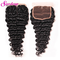Malaysian Deep Wave Closure Virgin Malaysian Hair Closures Lace Closure Deep Wave Malaysian Hair Free Part Closure Human Hair
