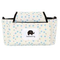 Print Strollers Baby Trolley Bag With Detachable Handbag Multifunctional Baby Stroller Organizer Pram Buggy Cart Hanging