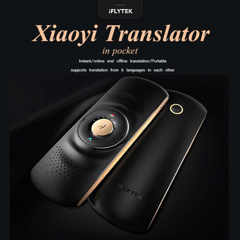 iFLYTEK Xiaoyi Wireless Portable Translator Voice Simultaneous Translation Spanish English French Korean Language For Travel berry programming language translation