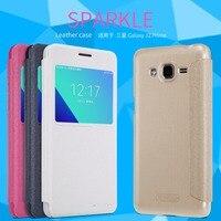 For Samsung Galaxy J2 Prime Case Nillkin Sparkle Leather Case For Samsung J2 Prime Phone Cover