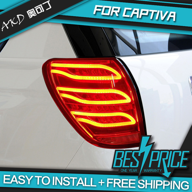 AKD Car Styling For CAPTIVA LED TAIL Lights BMW Design LED Tail - Car sign with namesonline get cheap d led sign aliexpresscom alibaba group