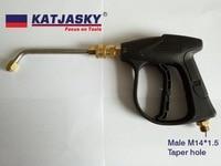washing gun for air condition, bent rod 60degree, flat nozzle 060 150Bar 2175PSI high pressure washer gun,spray water wash gun