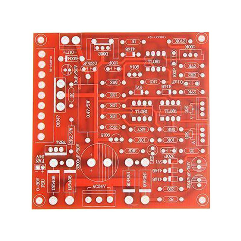 Red 0-30V 2mA-3A Continuously Adjustable DC Regulated Power Supply DIY Kit PCB rps3020d 2 digital dc power adjustable power 30v 20a power supply linear power notebook maintenance