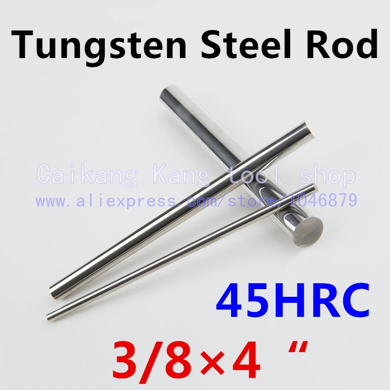 New 3/8*4 Head: 3/8 High levels High purity Tungsten steel rod Tungsten Bars Cutting Hardness: 45HRC 3/8*4 dc 100a analog ammeter panel amp current meter 85c1 gauge 0 100a dc shunt
