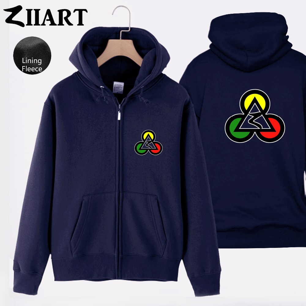 Poker Club Egypt Pyramids Jamaica Reggae Red Yellow Green Triangle Circle Man Boys Full Zip Fleece Hooded Coat Jackets ZIIART in Jackets from Men 39 s Clothing