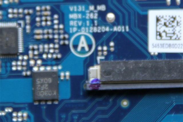 A1903801A لسوني MBX-262 اللوحة المحمول 1P-0128204-A011 مع I7-3520M وحدة المعالجة المركزية و N13P-LP-A2 GPU على متن HM76 اختبار بالكامل
