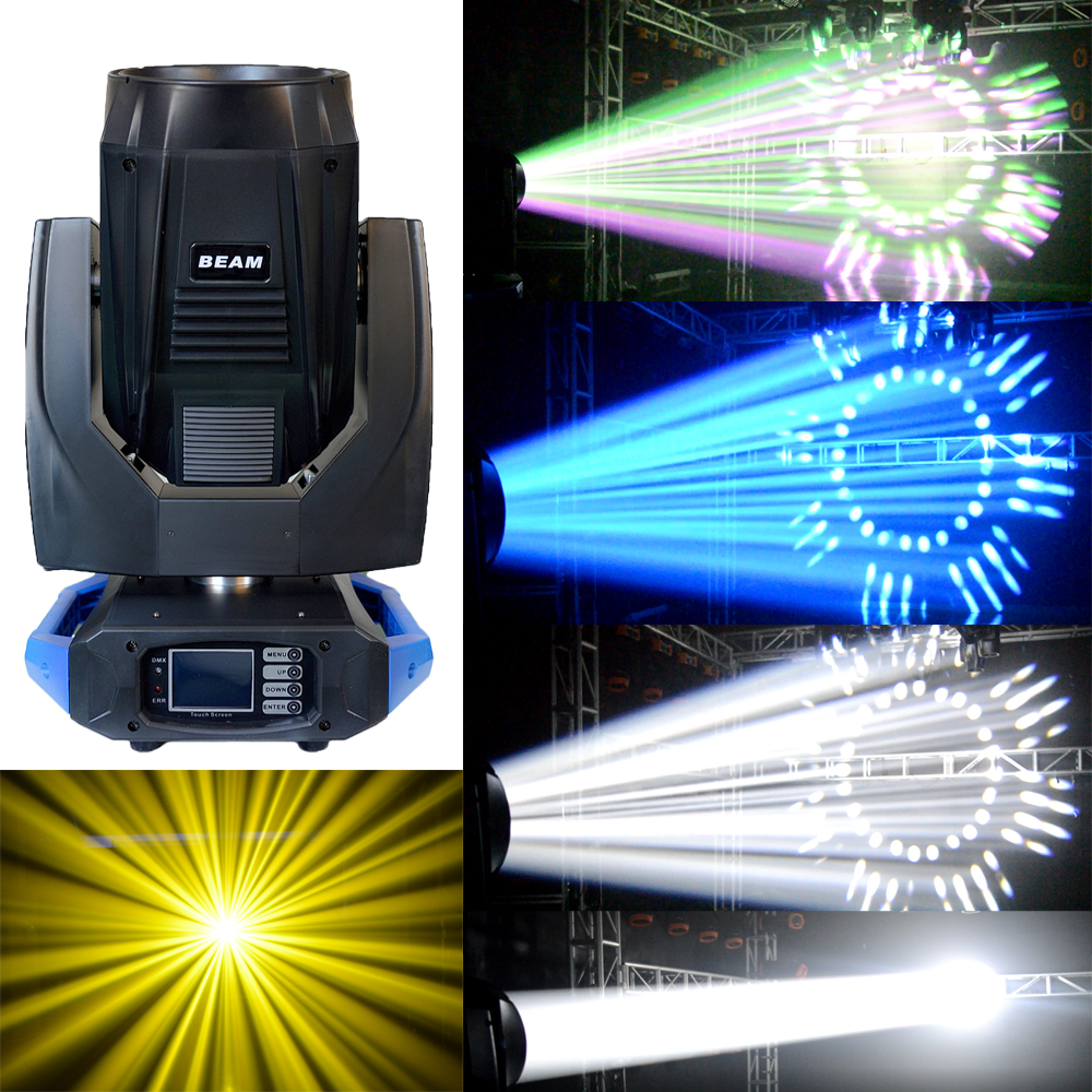 Nightjar 17R Sharpy 3in1 350w Moving Head Beam Light Double Prisms For Stage Effect Dj Night Club Wedding lighting
