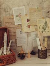 Style rétro feuille de musique papier INS photographie toile de fond décoration Photo tir fond bricolage ornement accessoires pour bijoux