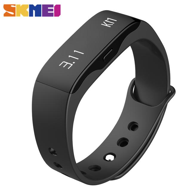 Skmei l28t chamada lembrete inteligente pulseira das mulheres dos homens relógios de pulso digital relógios de fitness ao ar livre esportes relógios relogio masculino