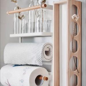 Image 4 - Nordic Metal Iron Storage Shelf Magnet adsorption refrigerator Condiment bottles Sundries Storage Holders Organizer for Home