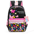 New 2017 School Bags for Girls Brand Women Backpack Butterfly Flower print Shoulder Bag Wholesale Kids canvas Backpacks