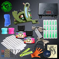 Newest Tattoo Kits With Shading Machine Immortal Ink Power Set Disposable Tips Tattoo Supply