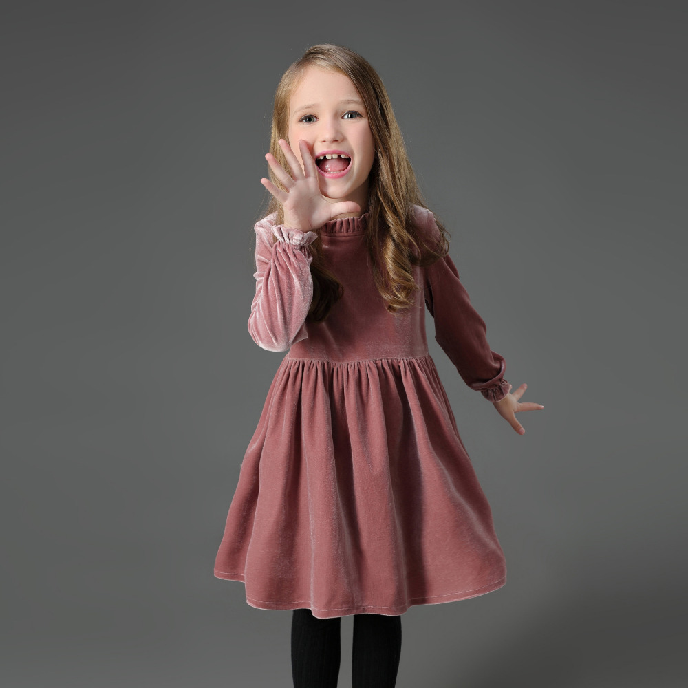 где купить Autumn Winter mother daughter dresses warm velvet women children clothing 3XL baby kids clothes 1Y-16Y family matching outfits по лучшей цене